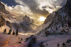 Romania, comuna Malaiesti Visit Romania, Trekking, Mount Everest, Winter, Cabin, Mountains, Country, Places, Nature