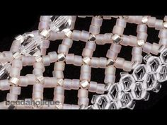 Seed bead jewelry How to Do Horizontal Netting Stitch in Bead Weaving ~ Seed Bead Tutorials Discovred by : Linda Linebaugh Lace Bracelet, Seed Bead Bracelets, Seed Bead Jewelry, Seed Beads, Beaded Jewelry, Rope Necklace, Jewellery, Seed Bead Tutorials, Beading Tutorials