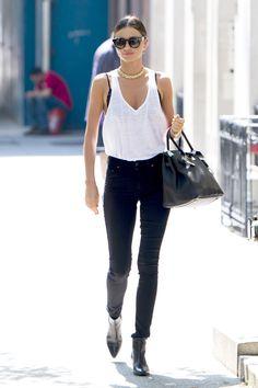 Miranda Kerr keeps it sexy in New York