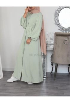 Simple Hijab, Outfit Look, Mode Hijab, Couture, Hijab Outfit, Muslim Fashion, Fashion Dresses, Modest Fashion, Shirt Dress