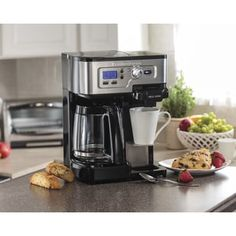 Shop for Hamilton Beach Black Programable 2-Way Brewer Coffee Maker. Get free shipping at Overstock.com - Your Online Kitchen & Dining Outlet Store! Get 5% in rewards with Club O! - 15846137