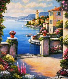 Lugano ~ Lake Como~ c.c.c~ Murals Your Way.Com