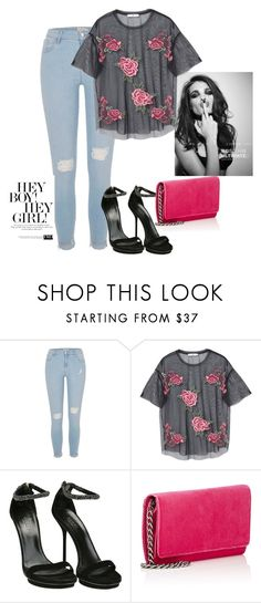 """Sin título #673"" by mafer-cmxxi on Polyvore featuring moda, Whiteley, River Island, MANGO, Gucci y Barneys New York"