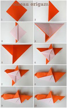 un voilier en origami voilier origami et pliage. Black Bedroom Furniture Sets. Home Design Ideas