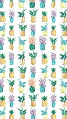 Wallpaper, lockscreen, abacaxi, padrão,
