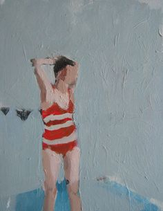 Samantha French - oh, how I love her swimmers in stripy suits! - The Jealous Curator