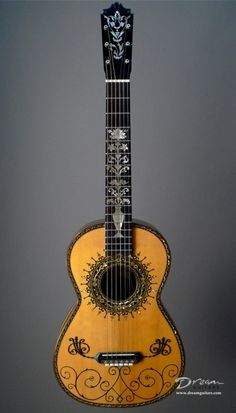 Ridiculously fancy classical guitar