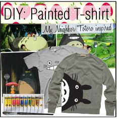 If you are like me, and LOVE Hayao Miyazaki/Studio Ghibli films, then this might be great for you! I am planning on doing this soon to a gray t-shirt of mine, a...
