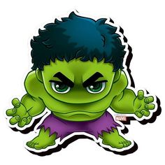 Avengers Hulk Chibi Funky Chunky Magnet - Aquarius - Hulk - Magnets at Entertainment Earth