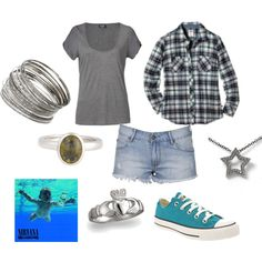 Me in High School, created by #jessica-thomas on #polyvore.