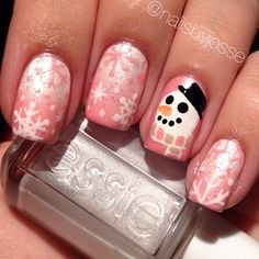 snowman christmas by nailsbyjosse #nail #nails #nailart