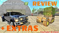 Farming Simulator 17 Mods Review with Extras - QUAD POLARIS ATV & Ford F...