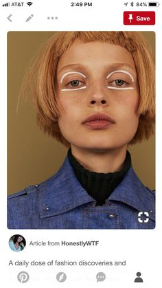 fashion editorials shows campaigns & more!: becca Editorial Makeup Becca campaigns Editorials Fashion optimism Shows visual Fashion Editorial Makeup, Beauty Editorial, Mime Makeup, Makeup Art, Makeup Eyes, Makeup Inspo, Makeup Inspiration, Character Inspiration, Fashion Inspiration