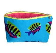 Make up Cosmetic bag Tropical Fish £5.00