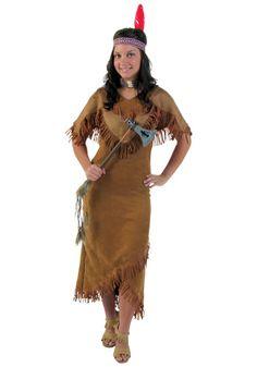 Deluxe Women's Indian Costume $29  halloween costumes.com