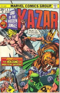 Ka-Zar Lord of the Hidden Jungle Comic Book #8 Marvel Comics 1975 VERY FINE: $7.99 End Date: Saturday Apr-7-2018 23:38:01 PDT Buy It Now…