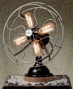Ventilador luminária | Lamp fan by Lab - Designs & Finds