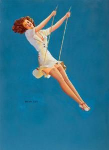 Nuttig voor pin up ketting; Vaughan Alden Bass - Pin-up On A Swing