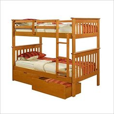 Special Offers - Mission Bunk Bed in Honey Twin Over Twin - In stock & Free Shipping. You can save more money! Check It (April 24 2016 at 08:30AM) >> http://jewelryarmoireusa.net/mission-bunk-bed-in-honey-twin-over-twin/