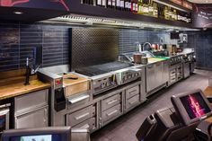 Nando's Sheffield Cook-line by MPL Catering Solutions