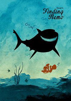 Walt Disney Pixar Finding Nemo Minimalist Movie von moonposter - My WordPress Website Walt Disney Pixar, Disney Pixar Movies, Disney Love, Disney Magic, Disney Art, Pixar Poster, Disney Movie Posters, Finding Nemo Poster, Finding Dory