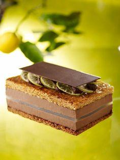 Création Pierre Hermé au chocolat