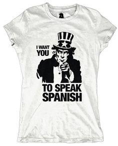 shirts t Spanish class
