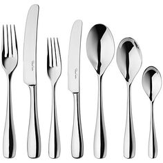 Buy Robert Welch Warwick Cutlery Place Setting, 7 Piece Online at johnlewis.com