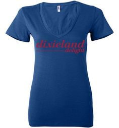 NCAA- Alabama Crimson Tide Dixieland Delight Ladies Deep V-Neck