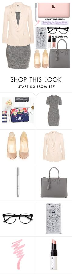 """#PolyPresents: New Year's Resolutions"" by golden-bird-love ❤ liked on Polyvore featuring French Connection, Christian Louboutin, STELLA McCARTNEY, Prada, EyeBuyDirect.com, Victoria's Secret, Bobbi Brown Cosmetics, MAC Cosmetics, contestentry and polyPresents"