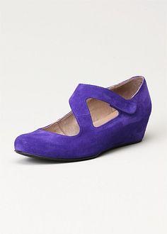 TS14+ Dora Wedge - Violet Purple  #plussize #curvy #spring