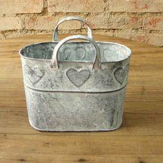 Sacolinha metal coração c/2 peças :: Loja Dom Mascate