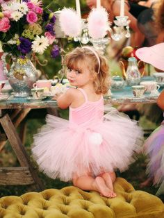 Princess tea party,,love the tufted,and table