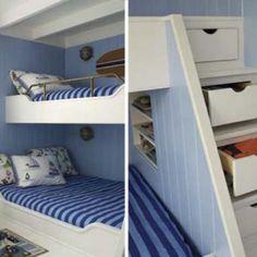 Hoogslaper Of Bedstee On Pinterest Bunk Bed Loft Beds
