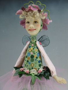 Dianne Adam Doll --  Life's in Bloom ... Your heart is a fertile garden ... consider carefully  the seeds you plant.