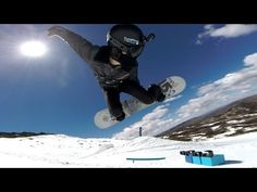 """GoPro: Shaun Flippin' White.  Shaun White plans to stretch the limits of what he did in the Vancouver Games. While White turned the snowboarding world on its head in 2010 with the """"Double McTwist 1260,"""" he plans to take that trick one step farther with the """"frontside double-cork 1440."""""""