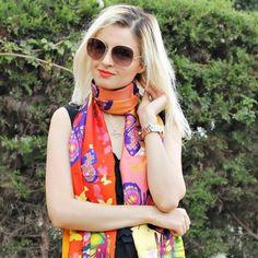 vevellefashion @fashionearthyrainbows VèVèlle #scarf. /vɛ.vɛl/. #vevelle #womenfashion #womensfashion #womensaccessories #fashion #womenstyle #womanstyle #instafashion #instafashionista #womenwear #womenswear #fashion #moda #lovefashion #mode #vogue #inst