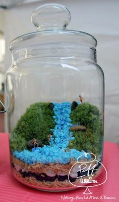 Kids waterfall : Customise your own Puff Today. #Puffterrariums