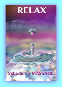 Relax and schedule a massage                                                                                                                                                                                 More