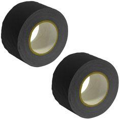 Gaffer's Tape - Black - 3 inch (2 Pack)
