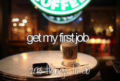 Category: Jobs i would like to have I want a job at starbucks during high school because it looks perfect for me and I heard they give great student benefits. High School Bucket List, Bucket List For Teens, Summer Bucket Lists, Stuff To Do, Things I Want, Wonderful Things, Bucketlist Ideas, Bucket List Before I Die, My First Job