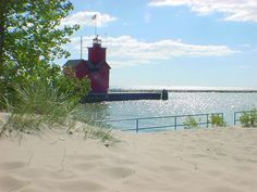 I was lucky to be able to grow up on the shores of Lake Michigan. The Lake Michigan beaches will always be one of my favorite places.