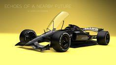 Andries van Overbeeke - McLaren-Honda Formula 1 Concept with closed cockpit Muscle Cars, Gp F1, Honda, Auto Motor Sport, Formula 1 Car, Mclaren F1, F1 Racing, Drag Racing, First Car