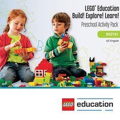 Build! Explore! Learn! Preschool Activity Pack,5003487
