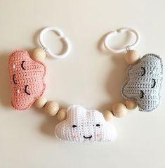 """Årets sista beställningar och jag """"går ner i tid"""". Diy Crochet, Crochet Toys, Crochet Baby Mobiles, Kit Bebe, Knitted Baby Clothes, Baby Gift Sets, Newborn Crochet, Baby Rattle, Yarn Crafts"""
