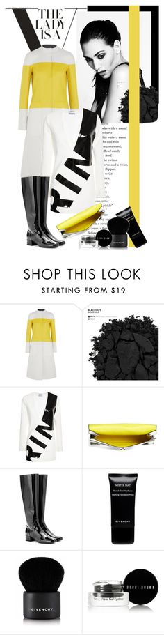 """""""Minimal Yellow"""" by stylemeup-649 ❤ liked on Polyvore featuring Narciso Rodriguez, Urban Decay, Anthony Vaccarello, Proenza Schouler, Yves Saint Laurent, Givenchy, Bobbi Brown Cosmetics, women's clothing, women and female"""
