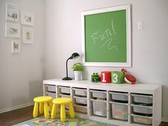 would love this storage for our school room