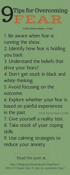 Navod jak prekonat strach