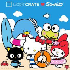 Sanrio x Loot Crate Summer subscription box
