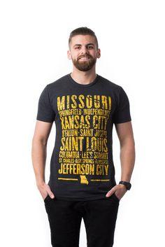 Missouri Cities T-Shirt